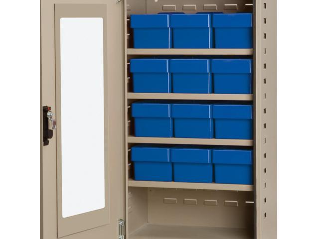 Akromils Textured Putty Quick View Cabinet w/ 31162 Blue