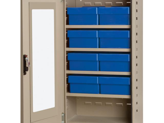Akromils Textured Putty Quick View Cabinet w/ 31182 Blue