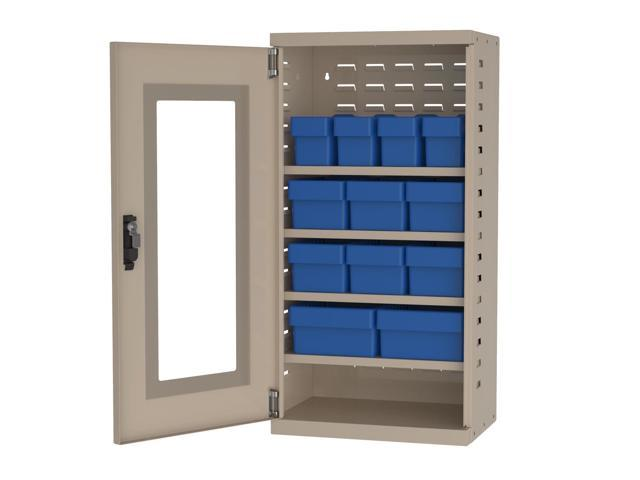 Akromils Textured Putty Quick View Cabinet w/ 31142/62/82 Blue