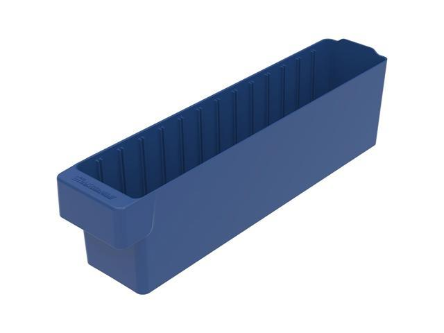 Akromils Akrodrawer blu 6 Pack - 17.62x 3.75x 4.62
