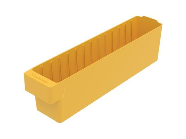 Akromils Akrodrawer Yellow 6 Pack - 17.62x 3.75x 4.62