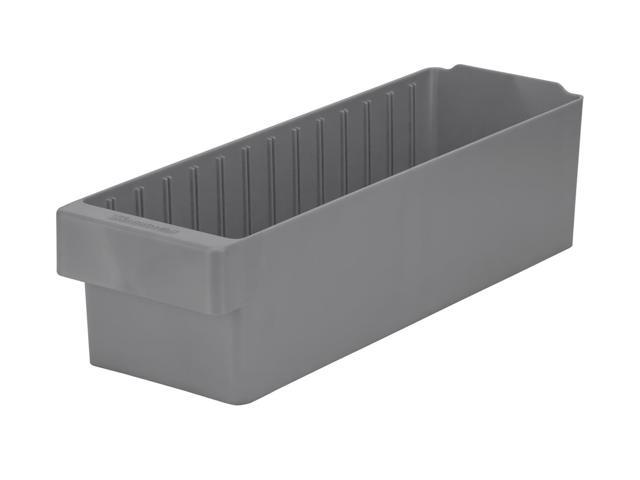 Akromils Akrodrawer Grey 6 Pack - 17.62x 5.56x 4.62