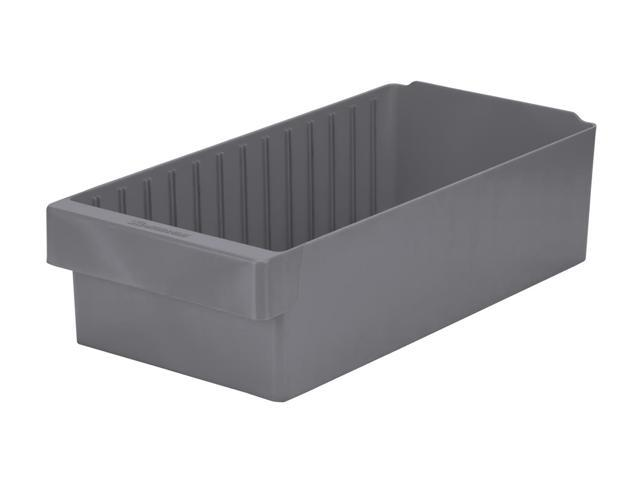 Akromils Akrodrawer Grey 4 Pack - 17.62x 8.37x 4.62