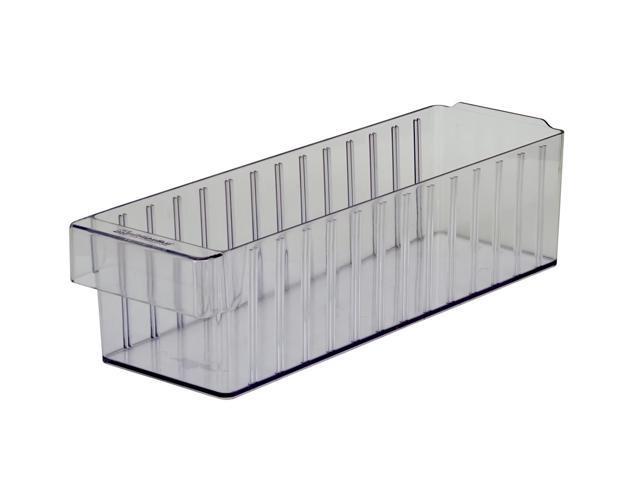 Akromils Akrodrawer Crystal Clear 6 Pack - 11.62x 5.56x 4.62