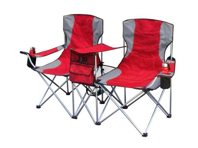 Giga Tent Travel Picnic Camping Side By Side Chair, RED