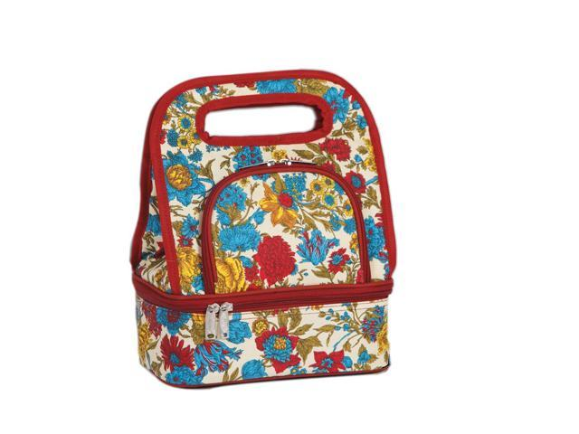 Picnic Plus Savoy Lunch Tote April Cornell Floribunda