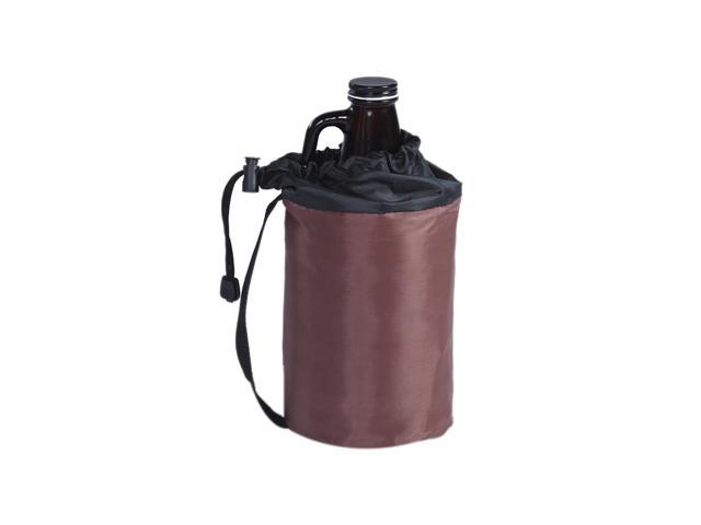 Picnic Plus Growler Cover Brown With Black