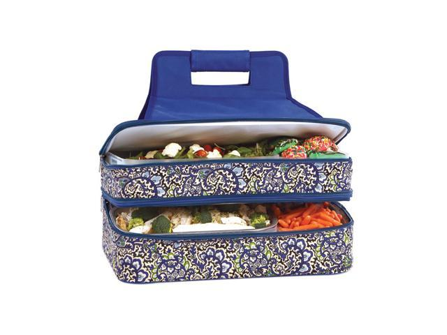 Picnic Plus Entertainer Hot And Cold Food Carrier English Paisley