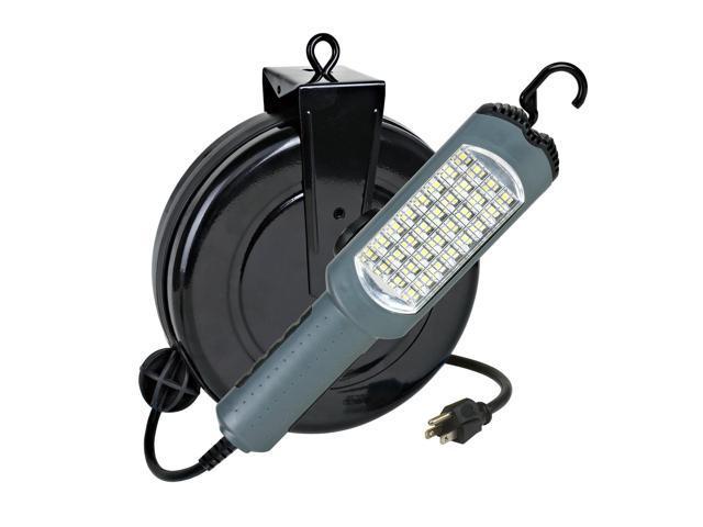 auto repair work light led 30 foot retractable cord reel. Black Bedroom Furniture Sets. Home Design Ideas