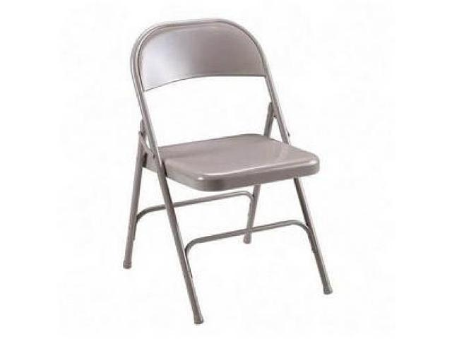 Folding Chairs Steel Seat 19-3/8