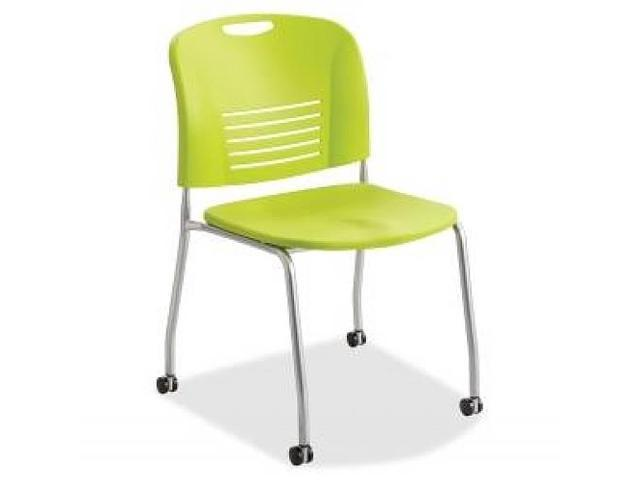 Stack Chairs w/Casters 22-1/2