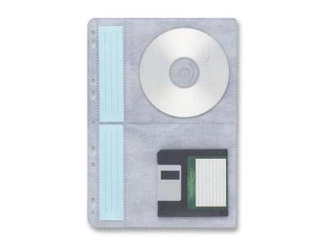 CD Ring Binder Storage Page 3HP Four Capacity 10/PK White