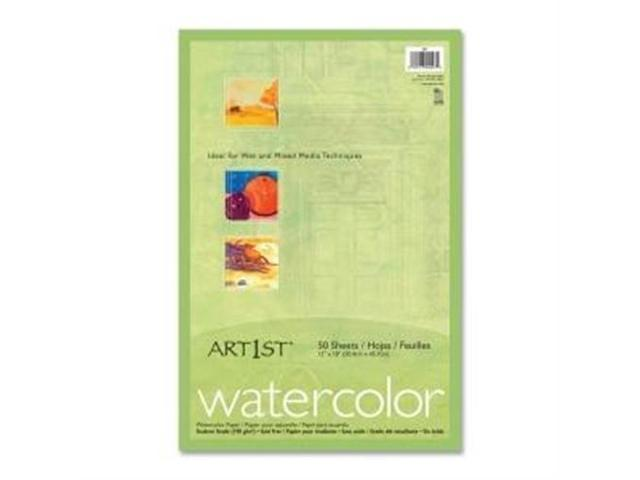 "Art1st 4927 Fine Art Paper 12"" x 18"" - Recycled - Vellum - 50 / Pack - White"