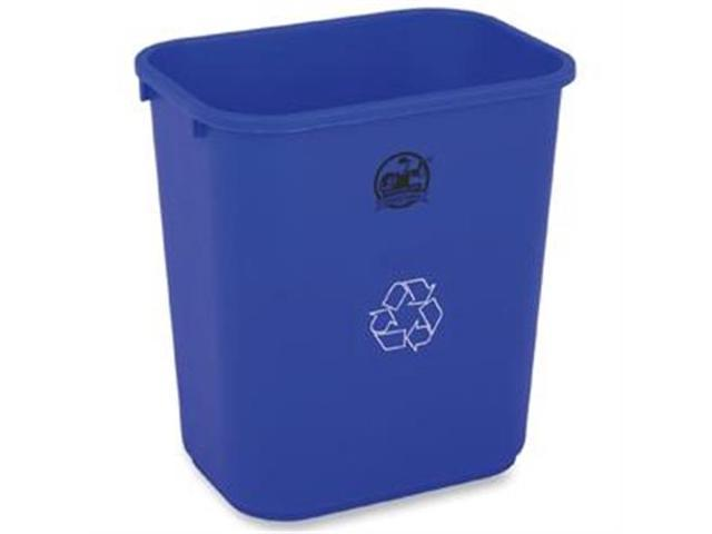 Recycling Wastebasket 28-1/2 Quart 14-1/2