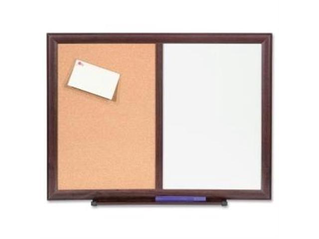 Bulletin Board Combo Dry-Erase/Cork 24