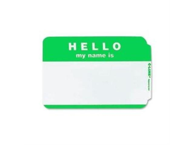 Hello My Name Is Badge 3-1/2