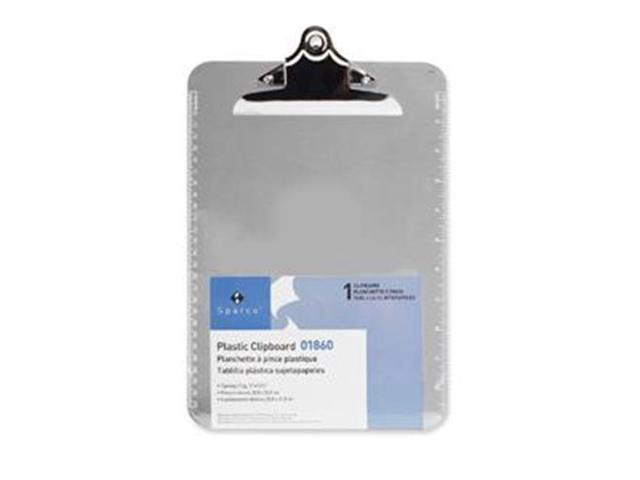 Transparent Plastic Clipboard 9