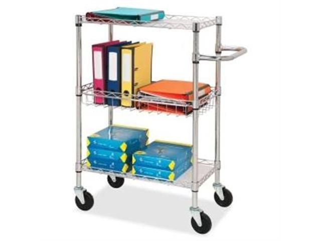 3-Tier Wire Rolling Cart 18