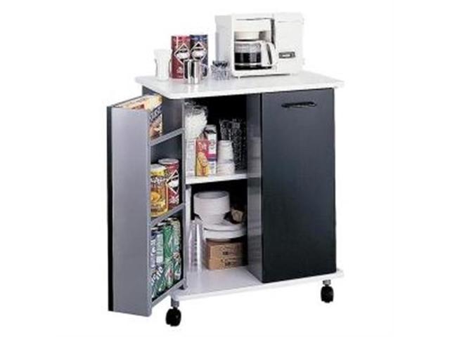 Safco 8963BL Mobile Refreshment Stand