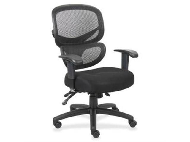 Mesh-Back Executive Chair Fabric Seat 27
