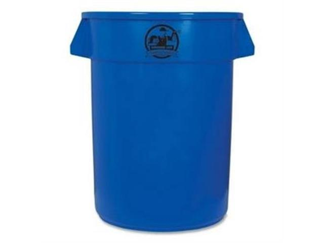 Trash Containers Heavy-duty 32 Gallon Blue