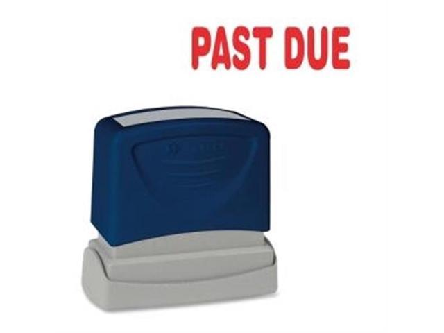 PAST DUE Title Stamp 1-3/4
