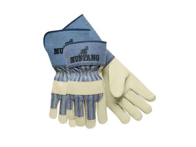 Mustang Grain Leather Palm Gloves Large