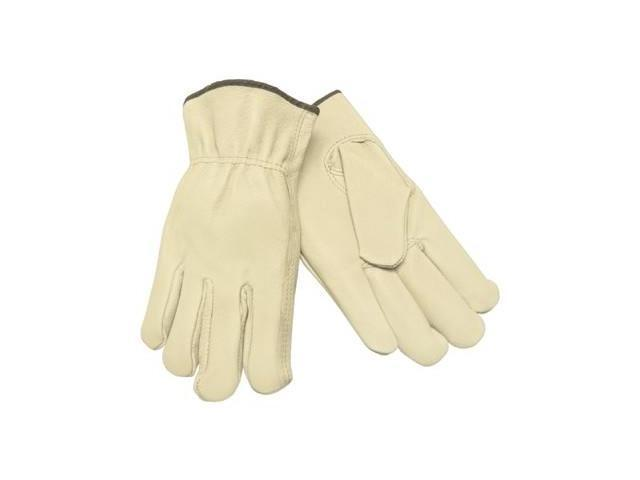 SMALL STRAIGHT THUMB GRAIN LEATHER DRIVERS GLOVE