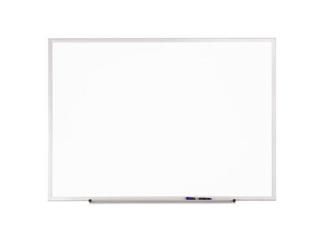 Classic Melamine Whiteboard 72 x 48 Silver Aluminum Frame