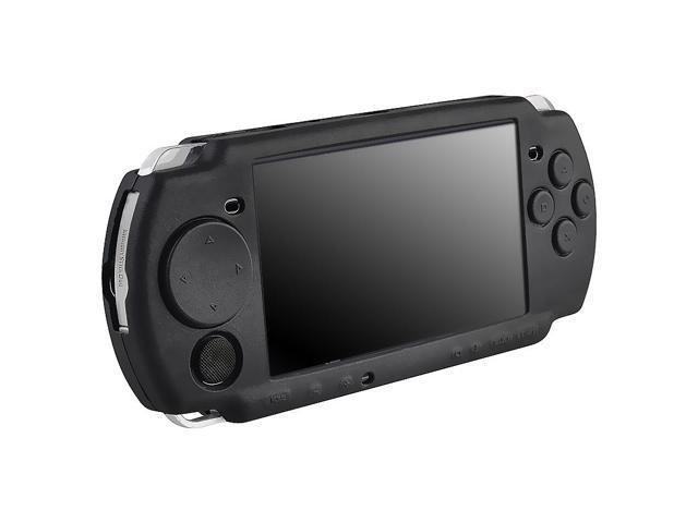 Silicone Skin Case for Sony PSP 3000, Black