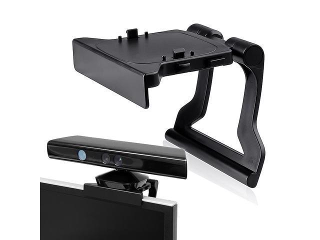eForCity Microsoft Xbox 360 Kinect Sensor Mount Holder, Black