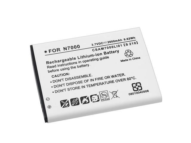 Li-ion Battery compatible with Samsung© Galaxy Note N7000