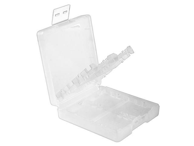 eForCity Nintendo DS / DS Lite / DSi / DSi LL / XL Game Card Case Cover 16-in-1, White