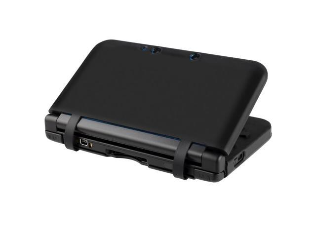 eForCity Silicone Skin Case Compatible with Nintendo 3DS XL, Black