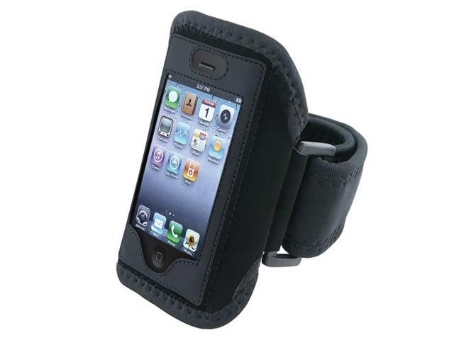 eForCity Black Adjustable Wrist / Armband Sports Case Cover - Fits Up To 15
