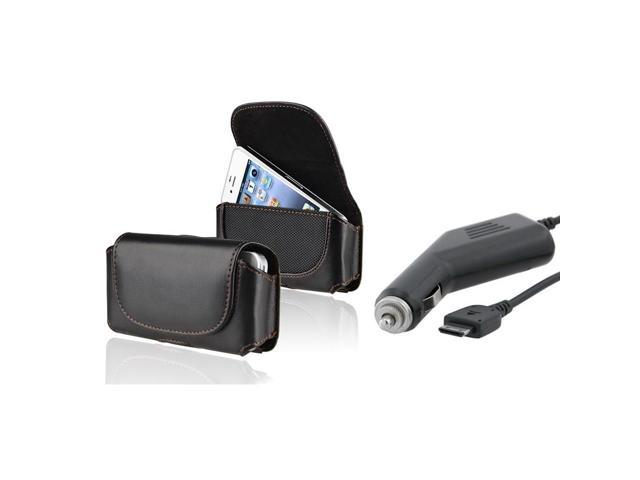 Compatible With Samsung  Blackjack 2/Ii I617 Phone Pouch + Car Charger
