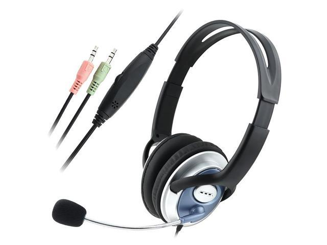 eForCity For Computer PC Skype VoIP Gaming Headset Headphone Mic