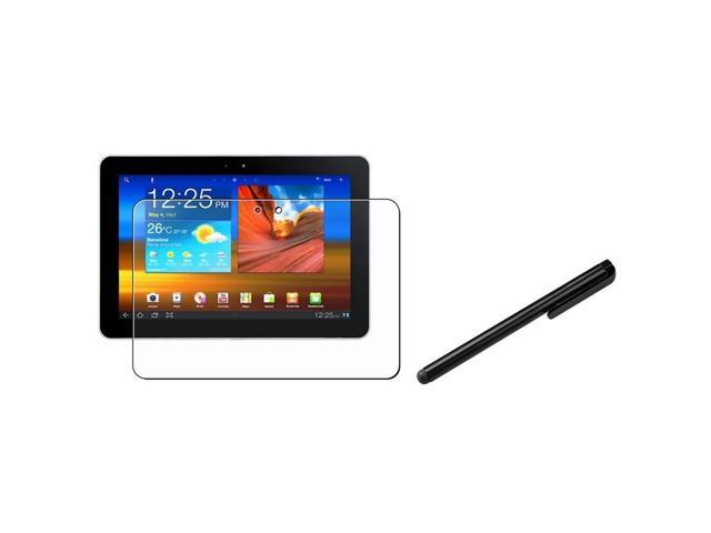 """eForCity Matte Screen Protector+Black Stylus Pen compatible with Samsung© Galaxy Tab 2 10.1"""" P5100"""