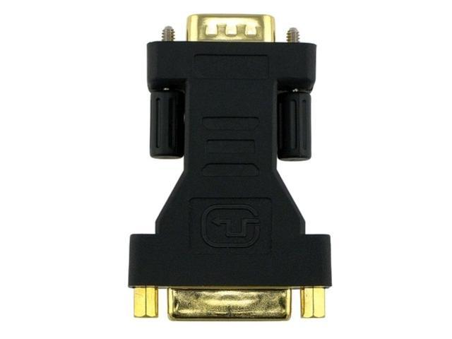 eForCity Premium DVI-I Female to VGA Male Adapter Gold Plated Supports Sony PS3
