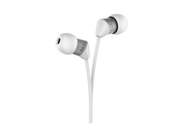 AKG Y 23U In-Ear Headphones With Universal One-Button Mic (White)