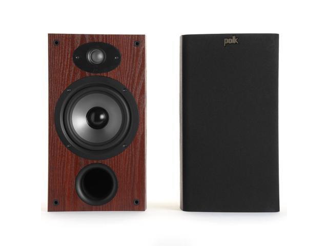 Polk Audio TSx220B 2-Way Bookshelf Speakers with 6-1/2