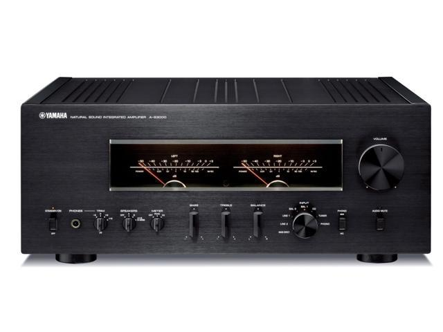 Yamaha A-S3000 High-Performance Integrated Amplifier (Black)