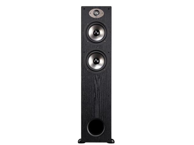 Polk Audio TSx330T High Performance 3-Way Floorstanding Speaker - Each (Black)