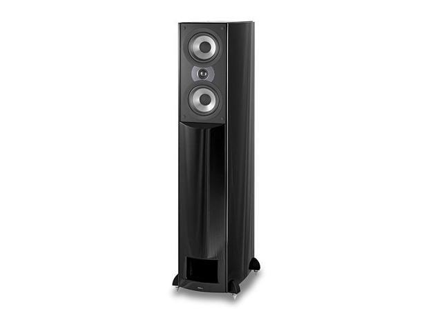 Atlantic Technology AT 1-GLF H-PAS Full Range Tower Speaker - Each (Gloss Black Fleck)