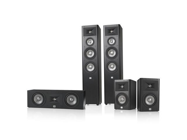 JBL Studio 280 5.0 Home Theater Speaker System Package (Black)