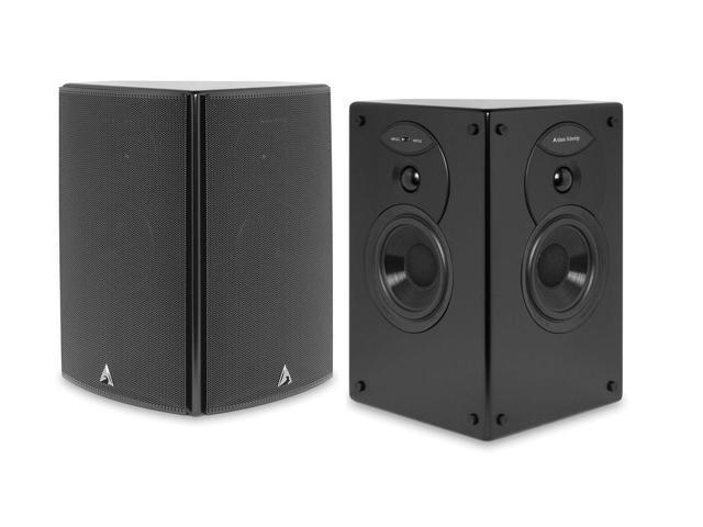 Atlantic Technology 4400 SR-BLK THX Select Diople/Biople Surround Speaker Pair (Satin Black)