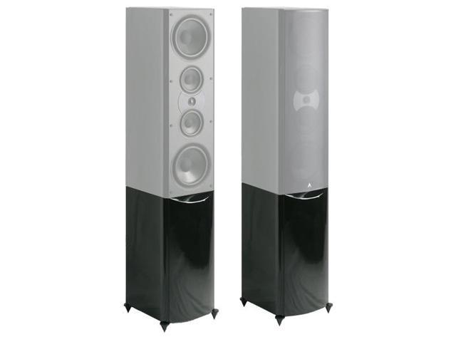 Atlantic Technology 8200eLR PED-GLB Pedestal Stand for 8200eLR Speaker - Each (Gloss Black)
