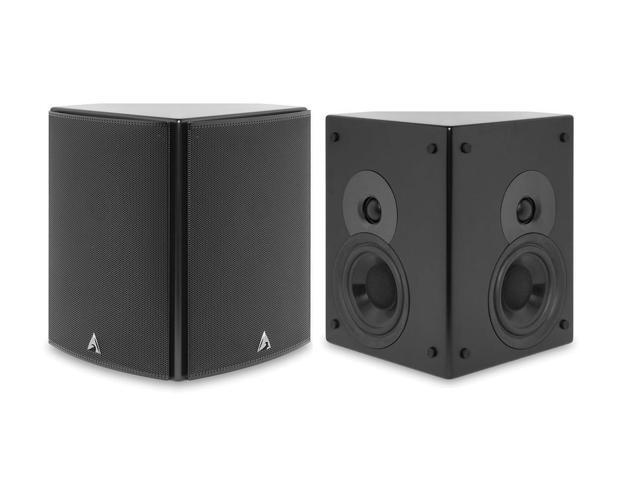 Atlantic Technology 2400 SR-BLK Diople/Biople Surround Speaker Pair (Satin Black)