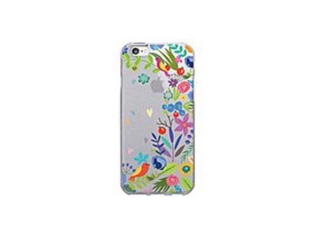 OTM IP6V1CLR-FLR-01 Floral Prints Clear Phone Case - Springtime - iPhone 6/6S Plus