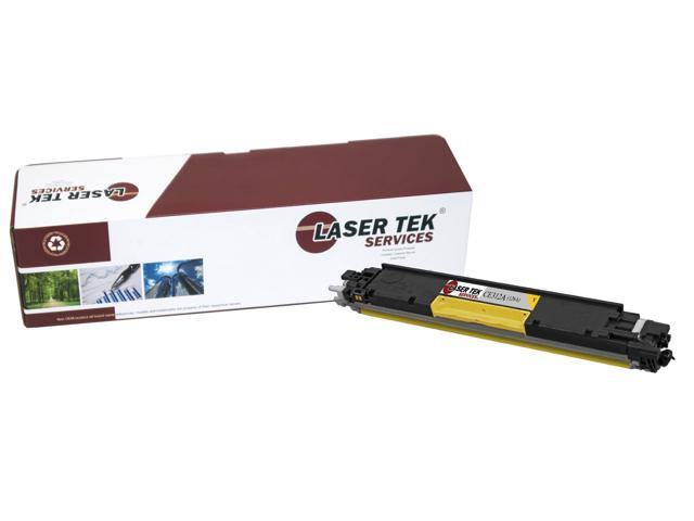 Laser Tek Services® HP CE312A (126A) Yellow High Yield Compatible Replacement Toner Cartridge